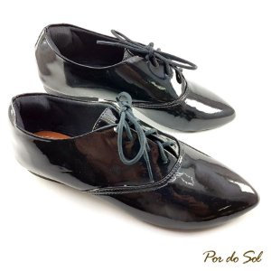 Oxford Verniz Preto - OX199