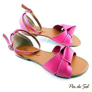 Salomé Aberta Rosa Pink com Laço Amarrado - SP2133
