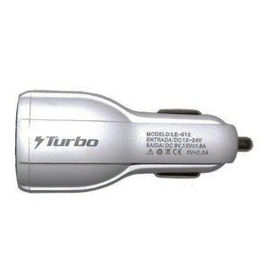 Carregador veicular Ecooda Turbo 3.6A