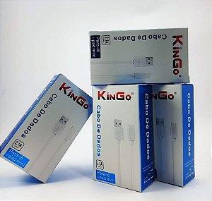 Kit 3 Cabos Para Iphone 5,6,7,8 2m Kingo **muito Resistente!