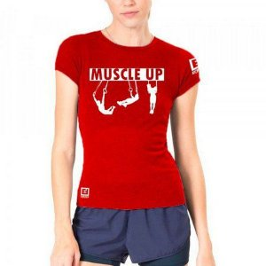 Camiseta Baby Look  - Muscle Up