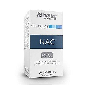Nac 600mg 60 Caps -  Atlhetica Nutrition