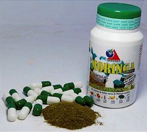 Moringa - Frasco com 60 Cápsulas de 500mg