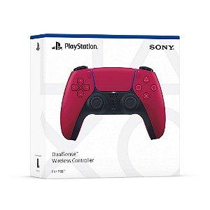 CONTROLE PS5 DUAL SENSE WIRELESS CRIMSON RED