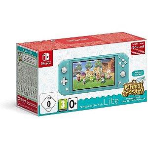 Console Nintendo Switch Lite Com Animal Crossing - Turquesa