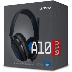 HEADSET ASTRO A10 PS4/PS5/PC/MAC/MOBILE