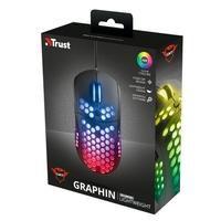 Mouse Gamer Trust GXT 960 Graphin - 10000dpi - 6 Botões Programáveis - RGB