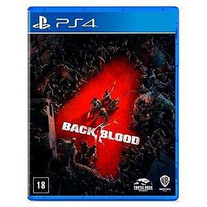 BACK 4 BLOOD JOGO PS4