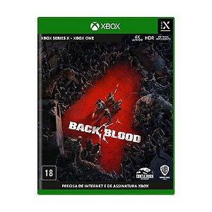 BACK 4 BLOOD JOGO XBOX