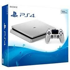 PLAYSTATION 4 500GB  SILVER
