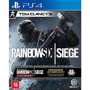 Tom Clancys Rainbow Six Siege Edição Deluxe