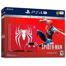 Playstation 4 Pro Spider-man 1tb