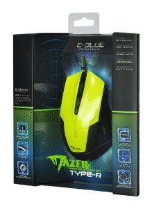 EBLUE MOUSE MAZER TYPE R VERDE
