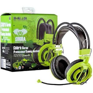 EBLUE HEADSET COBRA PRO GAMING VERDE