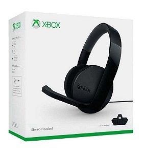 Fone Headset Xbox One Stereo Microsoft Com Adaptador