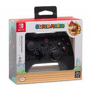 Controle Nintendo Switch Wired Edição Bowser