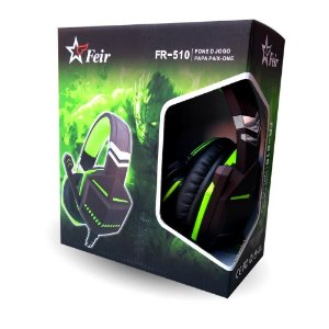 Headset Feir Gamer Ps4/One FR-510 Verde