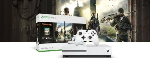 Console Xbox one S 1TB Bundle com Tom Clancy`s The Division 2 NACIONAL!!!