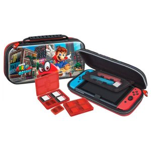 Deluxe Game Traveler Case Mario Odyssey - Switch