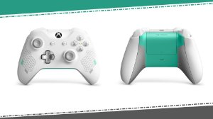 Controle Xbox One Sport White Special Edition