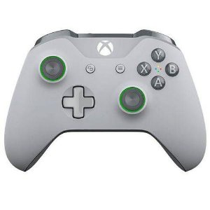 Controle Xbox One S Grooby Cinza E Verde