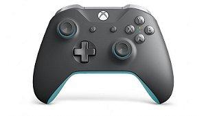 Controle Sem Fio Xbox – Cinza/Azul