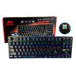 Teclado Gamer Mecânico Profissional Knup Kp-2052 Switch Blue