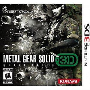 Jogo Usado Metal Gear Solid Snake Eater 3d 3ds