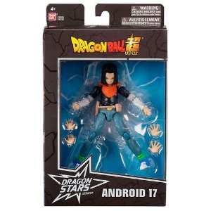 Dragon Ball - Super Boneco Articulado  - Android 17 - Fun