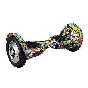 Hoverboard 10pol Skate Elétrico Urban Bat Samsung