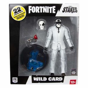 BONECO ARTICULADO FORTNITE WILD CARD BLACK