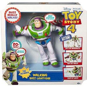 Boneco Toy Story 4 Buzz Movimentos Reais