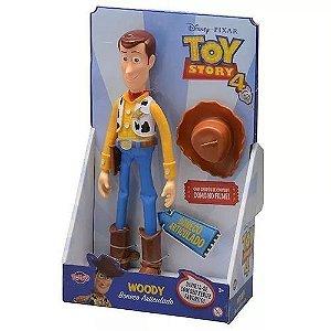 Boneco Woody Toy Story 4  Sem Som 30 cm Articulado ORIGINAL