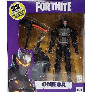 Boneco Fortnite Omega Articulado Edição Premium 18cm