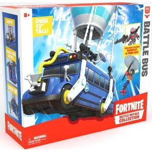 Veículo e Figura Fortnite Battle Bus