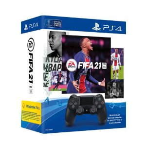 CONTROLE DUALSHOCK 4 SEM FIO COM FIFA 21