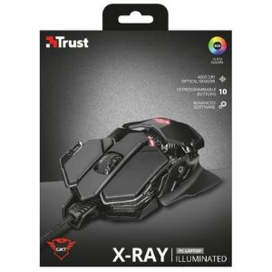 TRUST X-RAY MOUSE ILLUMINATED