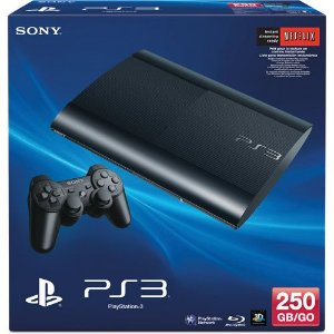 PLAYSTATION 3 250GB ( 25 JOGOS NO HD )
