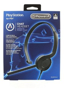 FONE DE OUVIDO GAMER HEADSET CHAT PS4- POWERA