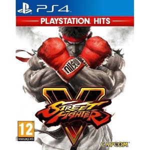 STREET FIGHTER V PS4 (SEMI NOVO)