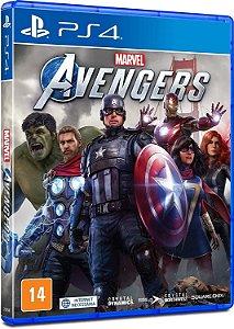 Marvels Avengers - PS4 - Dublado em Português