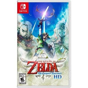 ZELDA: SKYWARD SWORD - SWITCH - PRÉ VENDA: 12/ 08/2021