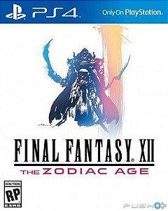 Final Fantasy Xii: The Zodiac Age Edição Steard Playstation 4
