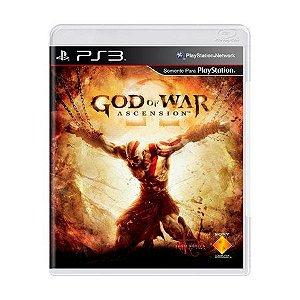 God of War: Ascension - PS3 (SEMI NOVO)