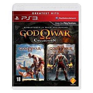 God Of War Collection I E 2 Ps3 (SEMI NOVO)