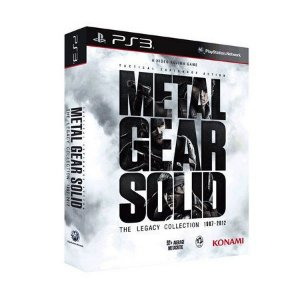 Metal Gear Solid: The Legacy Collection - PS3 (SEMI NOVO)