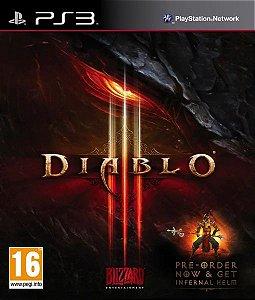 Jogo Diablo III - PS3 (SEMI NOVO)