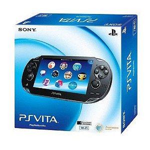 PS Vita Seminovo Destravado 32GB COM 15 JOGOS