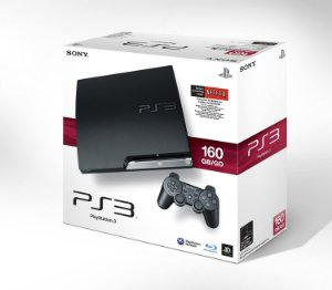 Sony PlayStation 3 Slim 160GB Standard SEMI NOVO