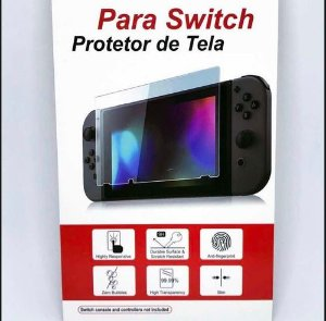 Pelicula De Vidro Temperado 9h Para Nintendo Switch - Feir